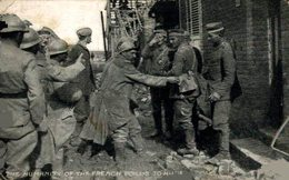 THE HUMANITY OF THE FRENCH POILUS TO HUNS 1914/15 WWI WWICOLLECTION - Guerre 1914-18