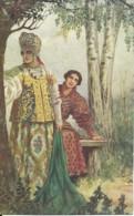 Illustrateur - Cpa Russie - S. De Solomko - Reponse Difficille - Solomko, S.