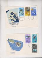 YUGOSLAVIA,1967 ZAGREB Space Nice FDC Covers - 1945-1992 Sozialistische Föderative Republik Jugoslawien