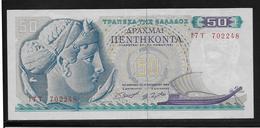 Grèce -  50 Drachmes - Pick N°195 - SPL - Grèce