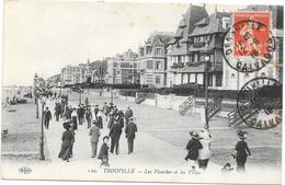 TROUVILLE : LES PLANCHERS ET LES VILLAS - Trouville