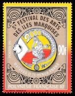 POLYNESIE 1999 - Yv. 609 ** SUP  Faciale= 0,76 EUR - Festival Des Arts Des Iles Marquises  ..Réf.POL24723 - Neufs