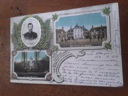 Postcard 1899, Internationale Vrede Congres Te S Gravenhage Het Huis Ten Bosch, Nicolaus II - Den Haag ('s-Gravenhage)