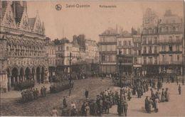Frankreich - Saint-Quentin - Rathausplatz - 1916 - Saint Quentin