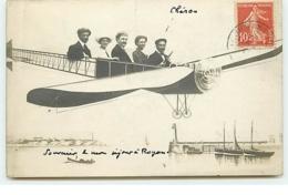 Carte-Photo - Souvenir D'un Séjour à ROYAN - Avion - Surréalisme - Royan