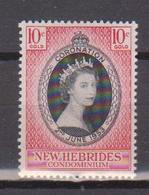 NOUVELLES HEBRIDES     N°  YVERT  :  166   NEUF AVEC  CHARNIERES      ( Ch  3 / 21 ) - English Legend