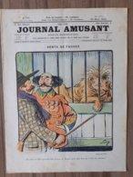 LE JOURNAL  AMUSANT 1910 DESSIN LUC BENJAMIN RABIER - Books, Magazines, Comics