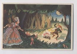 CONTE DE GRIMM - Nain Tracassin (allemand : Rumpelstilzchen) - Rupelsteeltje - Perlimpinpin - Illust De Kruÿff - Fairy Tales, Popular Stories & Legends
