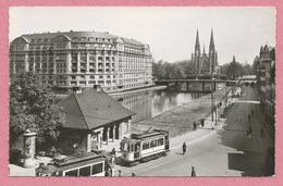 67 - STRASBOURG - CPSM - Quai Des Pêcheurs - Tram - Tramway - Strassenbahn - Strasbourg