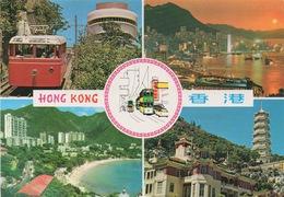 Hong Kong : Multi-vues (Carte Vierge) - Sonstige