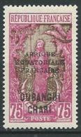 Oubangui  Yvert N°  77 *   -  Ava 29215 - Oubangui (1915-1936)