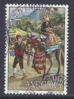 Andorra - 1979 Folklore, Traditional Costumes, Donkey - Used - Gebruikt