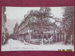CPA - Luchon - L'Hôtel De La Poste - Luchon