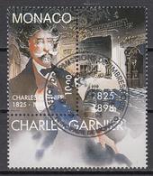 Monaco Mi 2406 ZF Charles Garnier Gestempeld Fine Used - Monaco