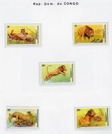 Lions- Leeuwen 2001 - MNH - Xxx - République Démocratique Du Congo (1997 -...)