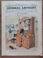 LE JOURNAL  AMUSANT 1910 DESSIN MIRANDE BENJAMIN RABIER - Books, Magazines, Comics