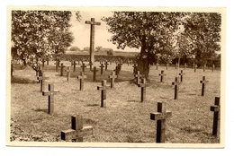Gheluwe  (Dorp) - Duitsch Krijgskerkhof - Deutscher Kriegerfriedhof - Wervik