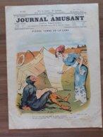 LE JOURNAL  AMUSANT 1910 DESSIN F BAC BENJAMIN RABIER AVION AVIATION - Books, Magazines, Comics