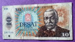 CZECHOSLOVAKIA : 10 KORUN 1986 - Czech Republic