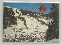 Carte Système Puzzle Les Gets 74 Haute Savoie - Mechanical