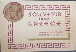 10 Cartes - Cartes Photos - Dépliant SOUVENIR FROM GREECE, ACROPOLIS MUSEUM, éd Hannibal - Grecia