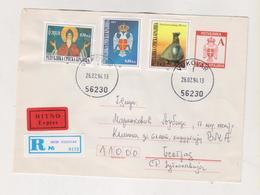 CROATIA KRAJINA 1994 VUKOVAR Registered  Cover To Beograd - Croazia