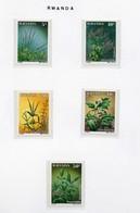 Plantes 1989   MNH-XXX - Rwanda