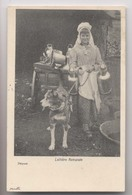 Attelage De Chien - MARCHANDE AMBULANTE - 1901  - Gros Plan - Animée - Street Merchants