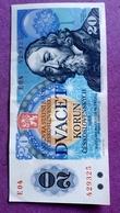 CZECHOSLOVAKIA : 20 KORUN 1988 - Czech Republic
