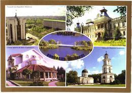 Moldova:Chisinau, Buiucani Sector, President Palace, Sport Club, Church, Museum, Bridge, 2006 - Moldova