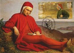 Kyrgyzstan 2015 750th Birth Anniversary Of Dante Alighieri. Maxicard** - Kyrgyzstan