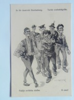 Dworak 53 Pola Marine Navy Humor K.U.K. KuK Kriegsmarine Caricature Karikatur 1917/18. C.F.P. Fano Nr 20a - Guerre