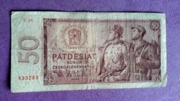 CZECHOSLOVAKIA : 50 KORUN 1964 - Czech Republic