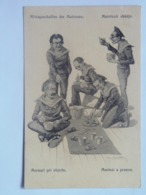 Dworak 59 Pola Marine Navy Humor K.U.K. KuK Kriegsmarine Caricature Karikatur 1917/18. C.F.P. Fano Nr 56a - Guerre
