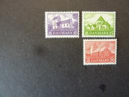 DANEMARK, Année 1944, YT N° 294 à 296 Neufs MH* - Ongebruikt