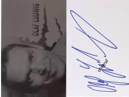 Olaf LUDWIG - Signé / Hand Signed / Dédicace Authentique / Autographe - Cycling