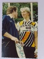 Greg LEMOND Et Cyril GUIMARD - Signé / Hand Signed / Dédicace Authentique / Autographe - Cycling