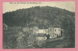 67 - WASSELONNE - MARLENHEIM - GRUSS Aus Dem KRONTHAL - KRONTAL - Maisons - Voie Ferrée - Wasselonne