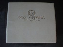 1981 ROYAL WEDDING PRINCE CHARLES LADY DI DIANA STAMP ISSUE ALBUM COMMONWEALTH COLLECTION FDC OFFICIAL FIRST DAY COVERS - Ohne Zuordnung