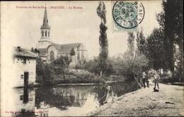 Cp Beauzée Sur Aire Beausite Meuse, La Riviere - Andere Gemeenten