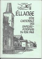 Ellange Sapeurs-Pompiers - Old Paper