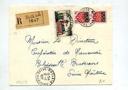 Lettre  Recommandée Duclair Sur Calais - Marcophilie (Lettres)