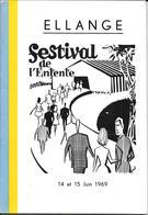 Ellange Festival De L'entente - Old Paper