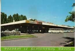 Croatia - Slavonski Brod,buss Station. - Kroatien