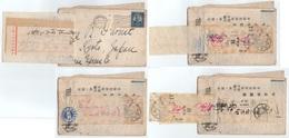JAPON - JAPAN / 1925 LETTRE DES USA AVEC MULTIPLES REEXPEDITIONS PUIS RETOUR A NEW YORK / 2 IMAGES (ref 7549) - Giappone