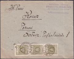 Lettre Pologne - 1925 - Enveloppe   - YT: PL N° 302 X3 - 1919-1939 République