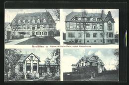 AK Nastätten, Kaiser Wilhelm-Heim Bebst Kinderheims, Mehrfachansicht - Deutschland