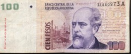 Argentina 100 Pesos, P-351 (1999) - Fine - Serie A - Argentina