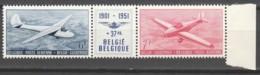 Belgie     .      OBP    .     PA  26/27  Drieluik   .    **    .  Postfris  .   /   .  Neuf SANS Charniere - Airmail