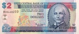 Barbados 2 Dollars, P-66a (2007) - UNC - Barbados (Barbuda)